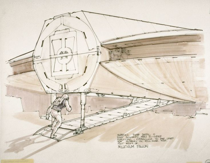 735x571 41 Best Millenium Falcon Drawings Images On Star Wars