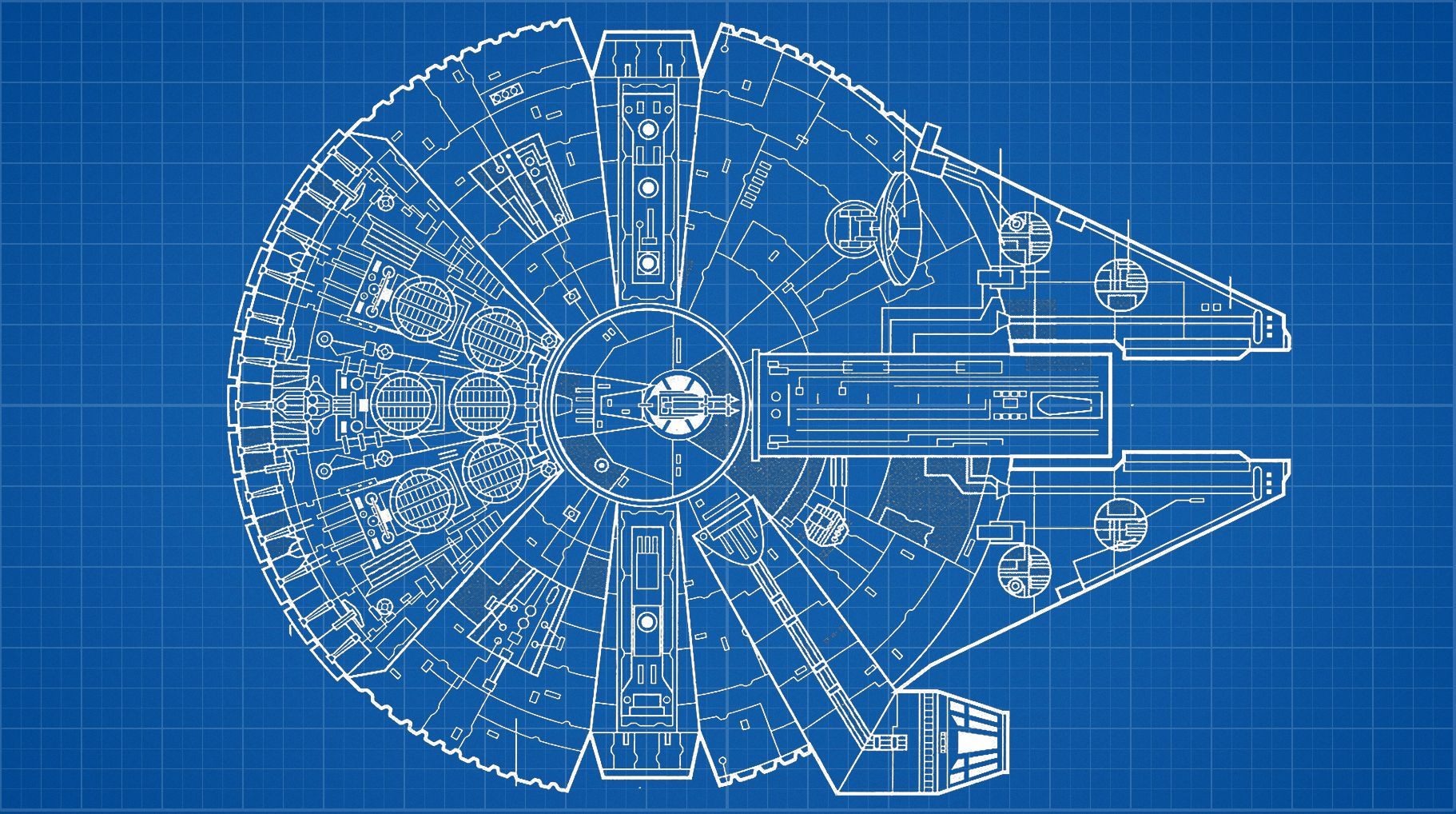 Millennium falcon technical drawing at getdrawings free for 1822x1018 millennium falcon malvernweather Gallery