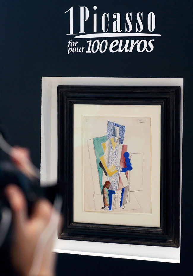 650x929 A Million Dollar Drawing By Pablo Picasso Was Snapped Up By A 25