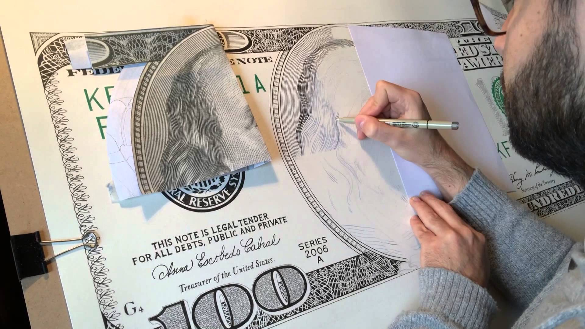 1920x1080 One Hundred Dollars Bill Time Lapse Video By Giorgio Arcuri