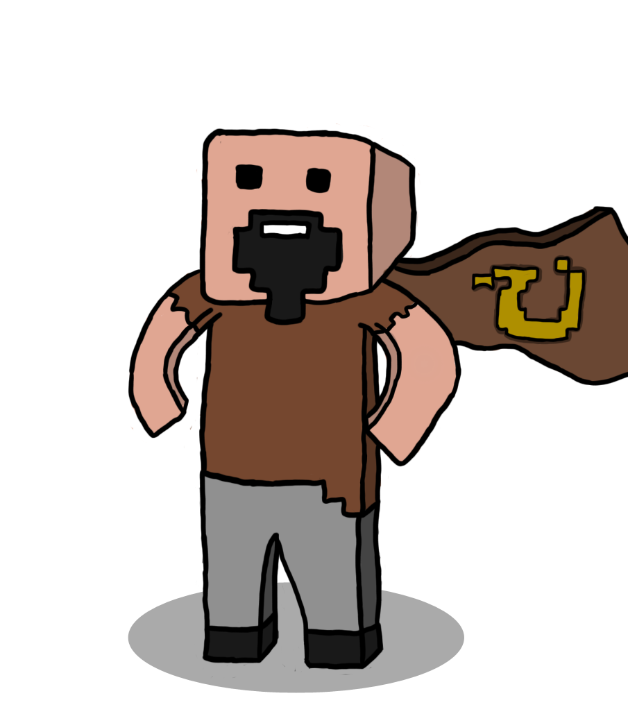 905x1042 Free] Minecraft Cartoon Art
