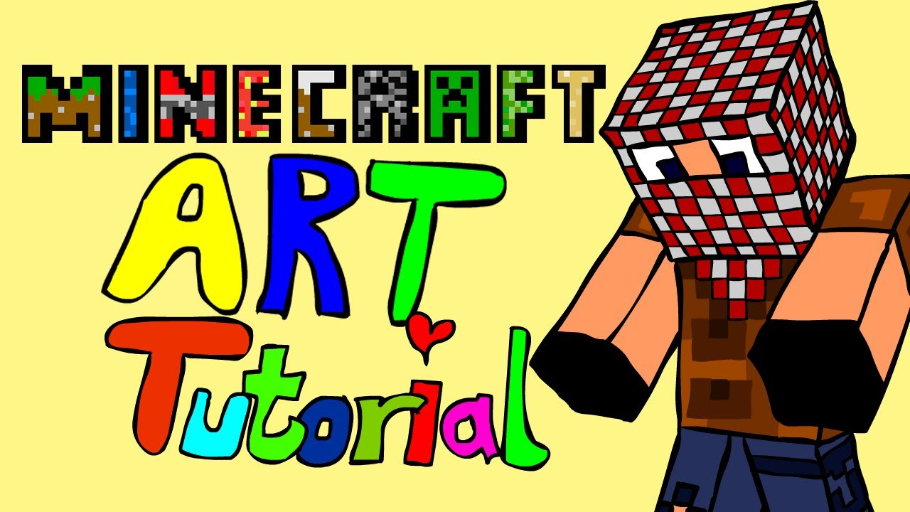 1280x720 Minecraft Cartoon Art Tutorial (Adobe Flash Character Drawing