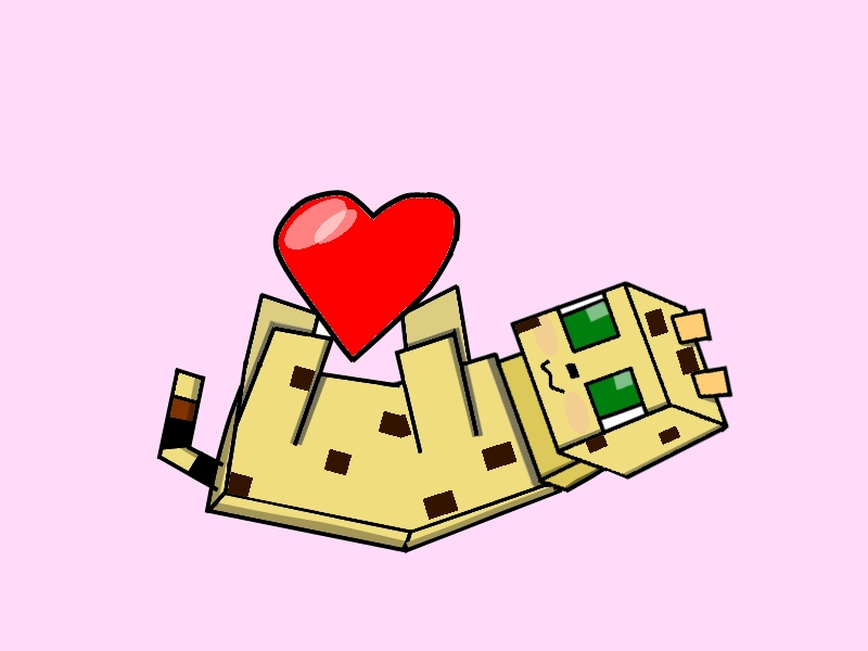 Coloring Pages For Minecraft : Minecraft cat drawing at getdrawings free for personal use