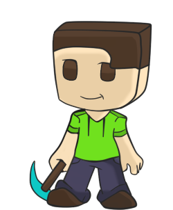 250x302 My Minecraft Character Drawing Minecraft Blog