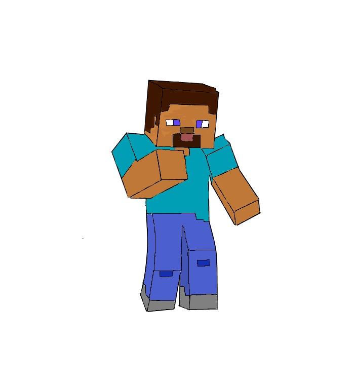 701x750 My Drawn Minecraft Skins Minecraft Blog
