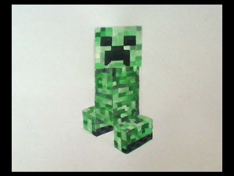 480x360 How To Drawpaint Creeper