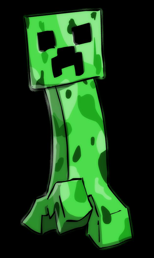 625x1042 Minecraft Creeper By Sticko Kun
