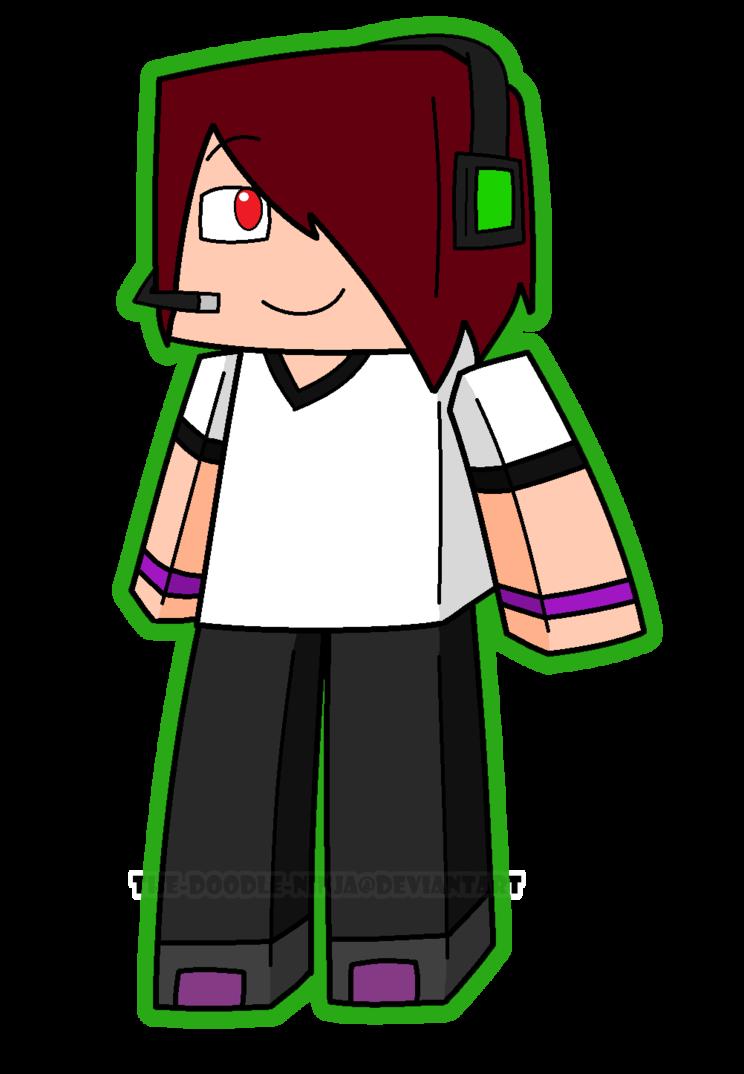 744x1074 Minecraft More Deadlox Xd By The Doodle Ninja