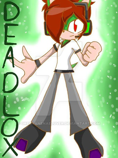 400x533 Minecraftsonicdrawings Deadlox In Sonic Style By