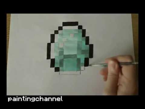 480x360 How To Drawpaint Diamond