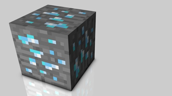 590x331 How To Make A Easy Diamond Trap In Minecraft Minecraft Blog