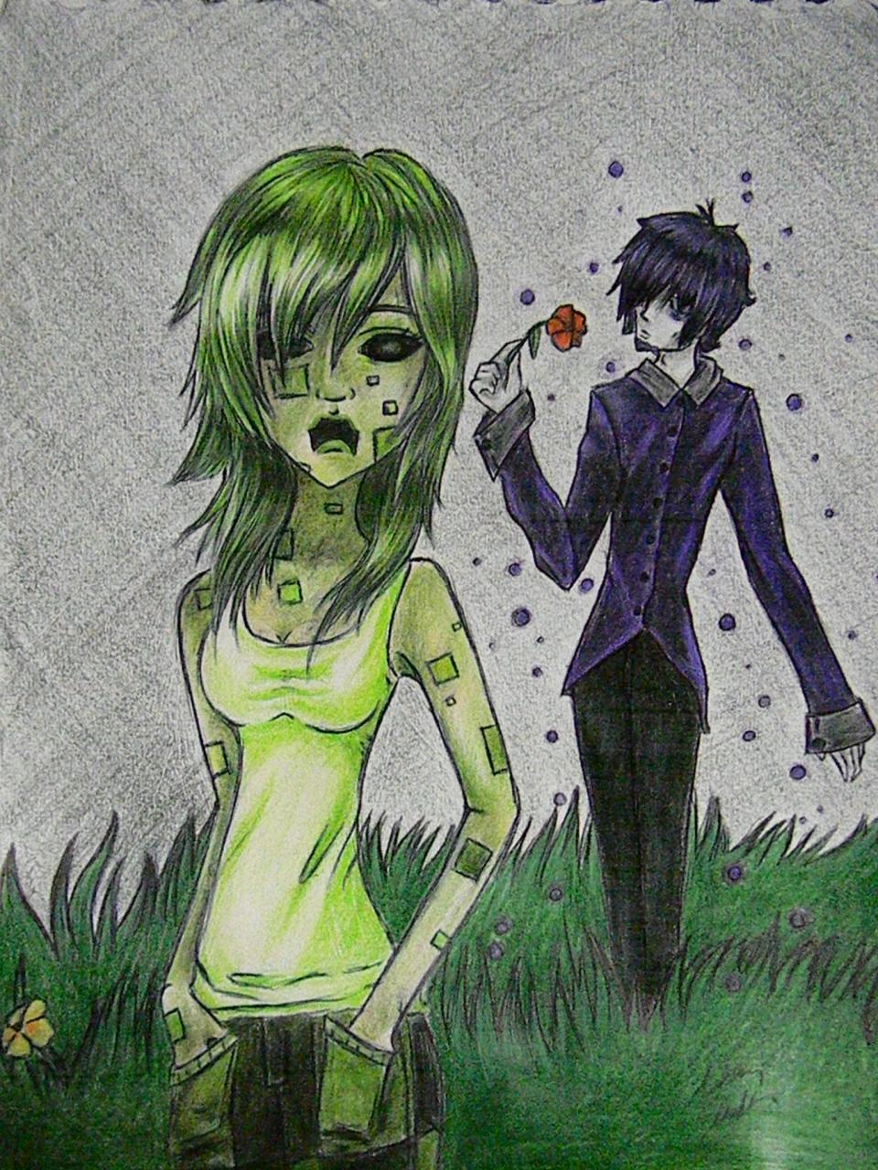 960x1280 Humanized Creeper And Enderman Drawing Minecraft Blog