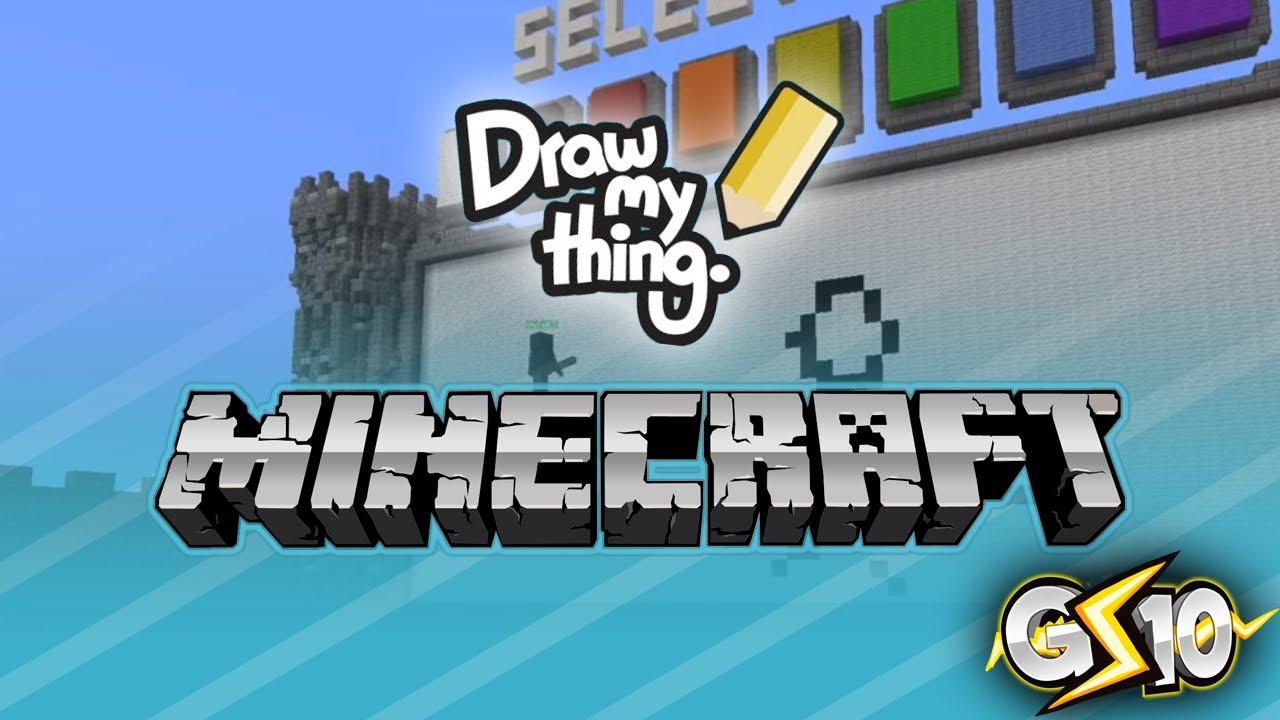 1280x720 Minecraft Draw My Thing Mini Game W Graser Amp Friends!