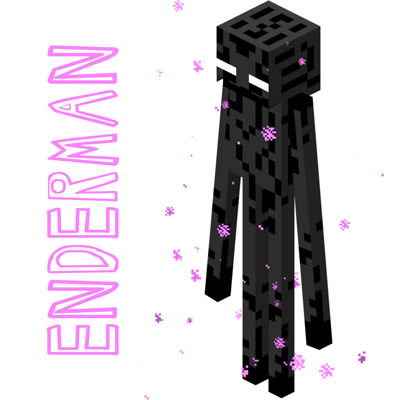 400x400 How To Draw Enderman From Minecraft Drawing Tutorial