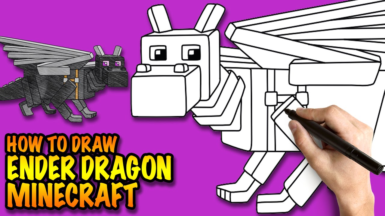 1280x720 How To Draw Ender Dragon