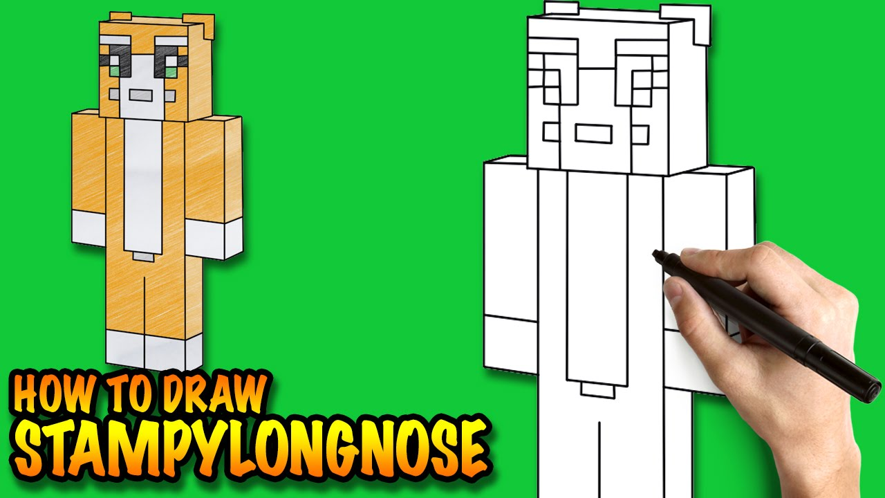 The best free Stampylongnose drawing images  Download from 8 free