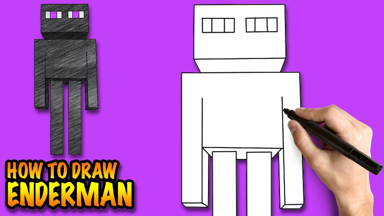 1280x720 How To Draw Enderman