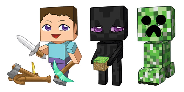 Minecraft Enderman Drawing At Getdrawings Com Free For