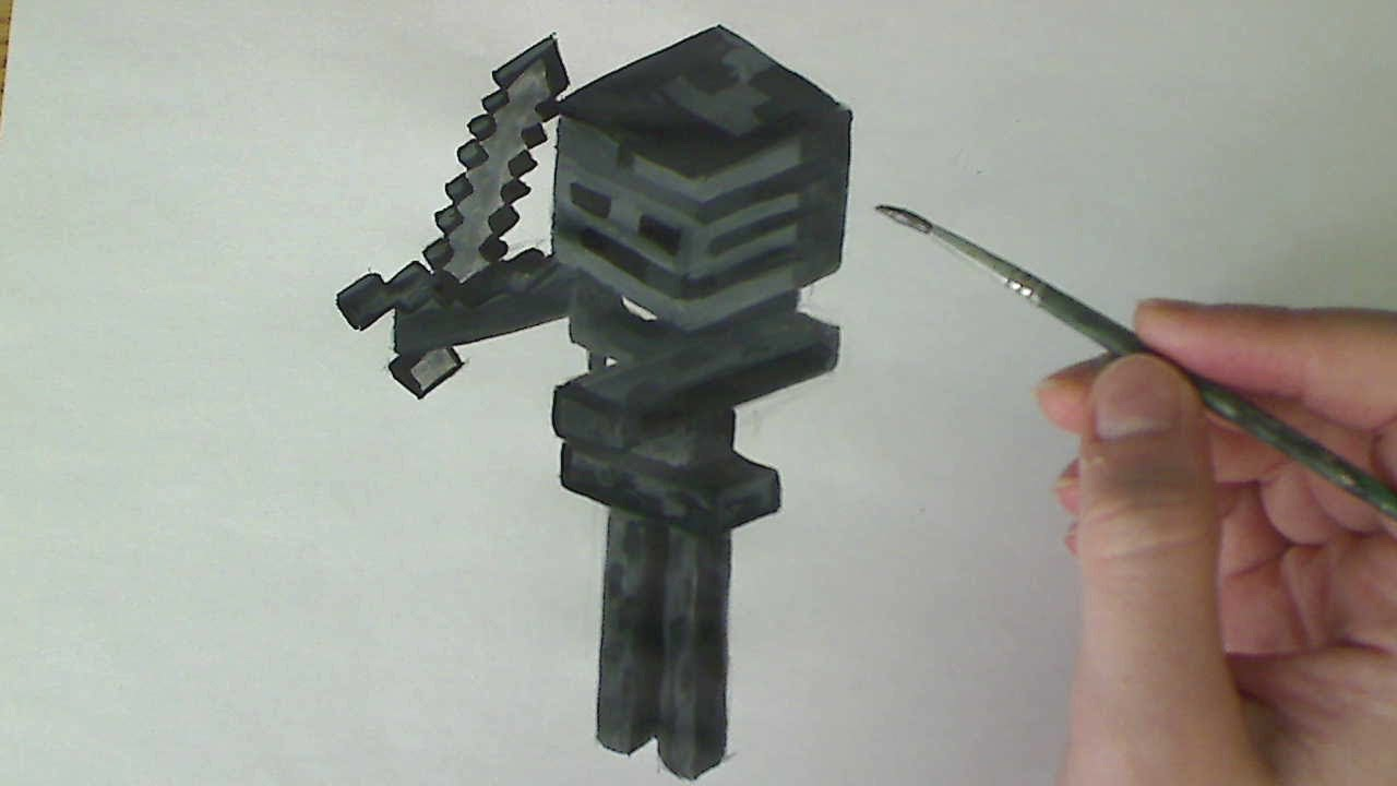 Coloring Pages For Minecraft : Minecraft skeleton drawing at getdrawings free for personal