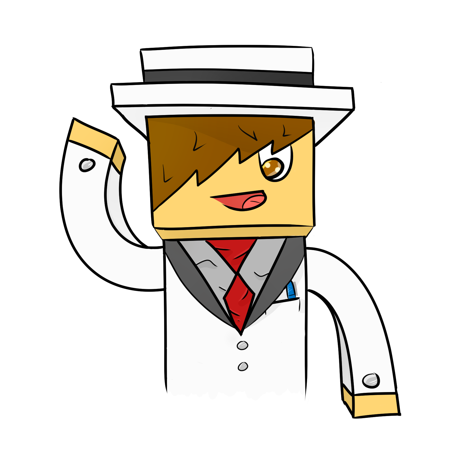 Minecraft Skin Drawing at GetDrawings com   Free for