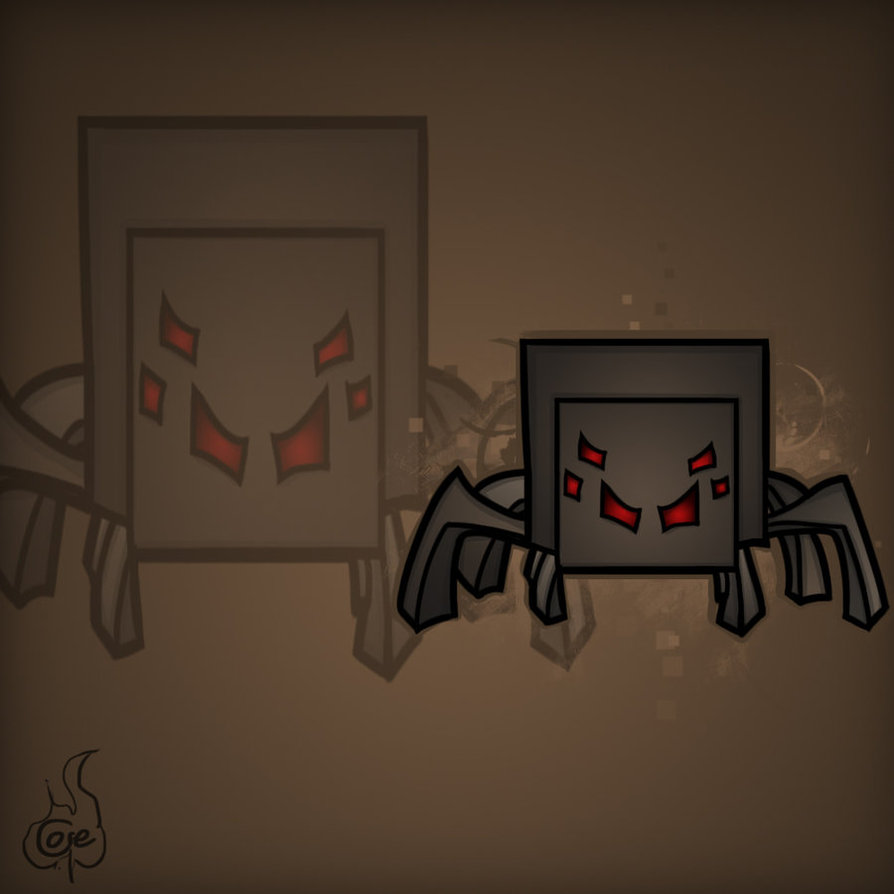 894x894 Minecraft Mob Spotlight Spider By Trucorefire