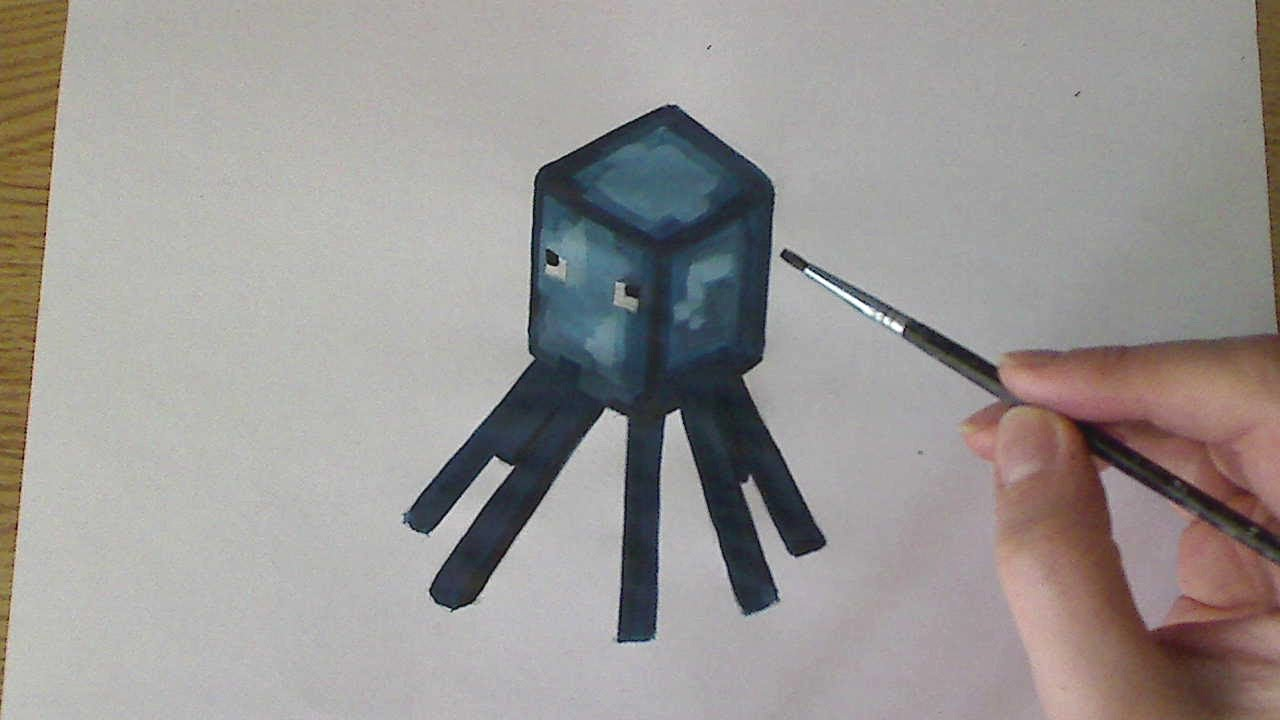 1280x720 How To Drawpaint Squid