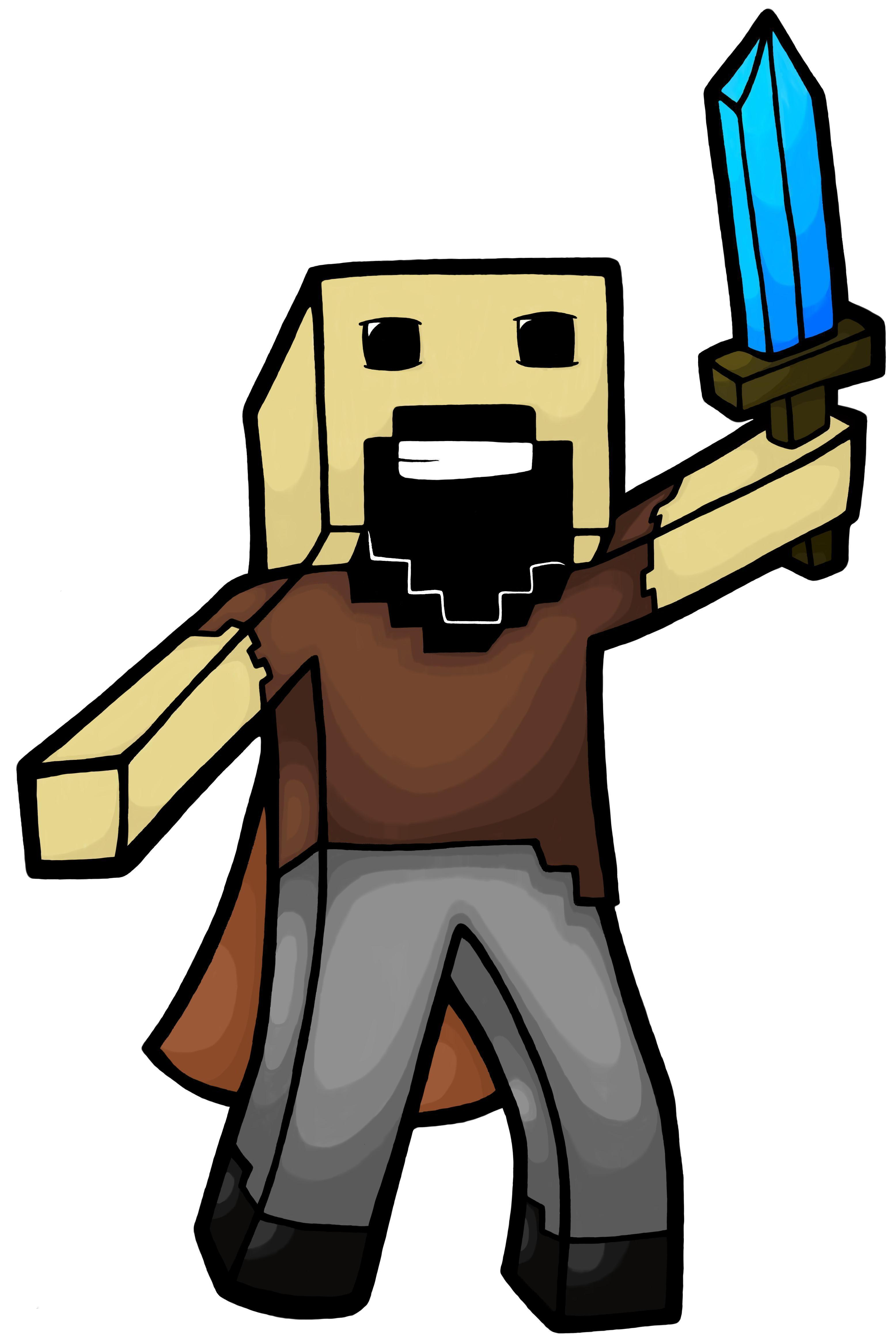3111x4638 MC Art Angry Ghast Minecraft Blog