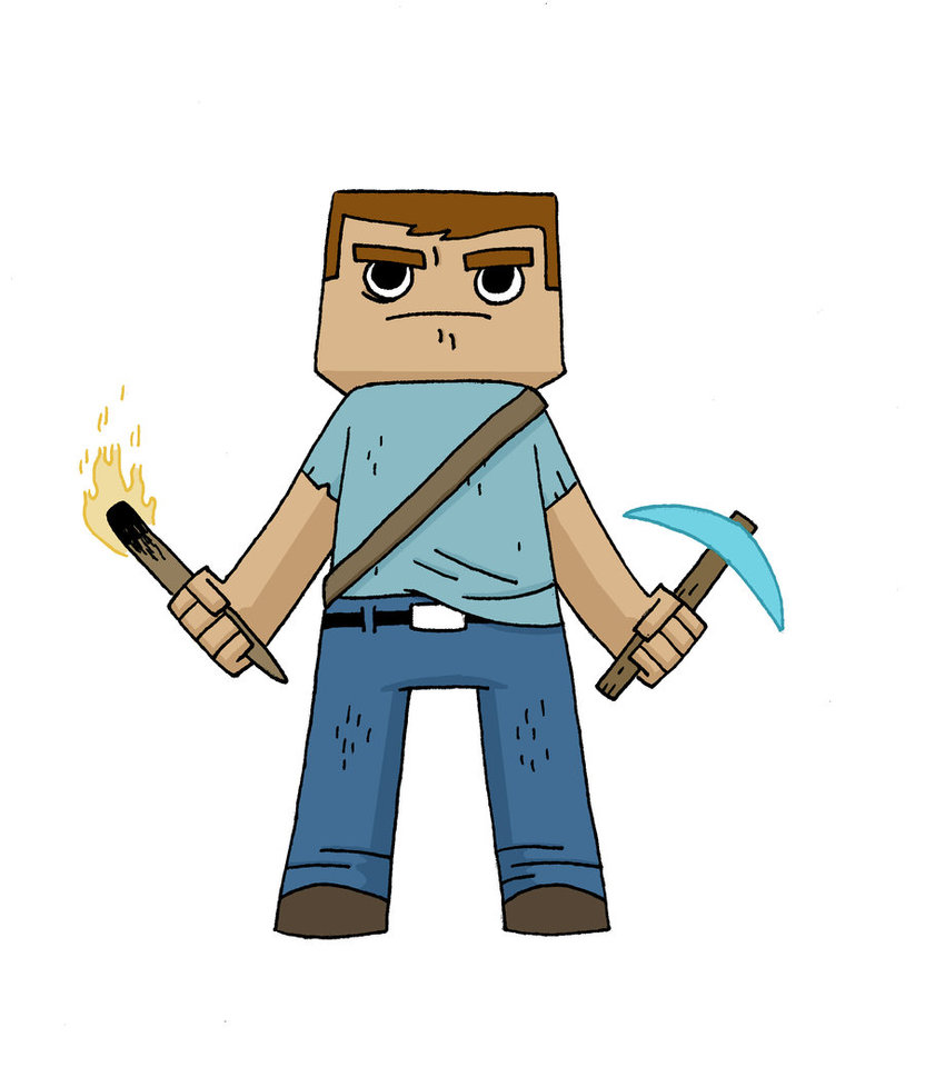minecraft steve drawing at getdrawings com free for personal use