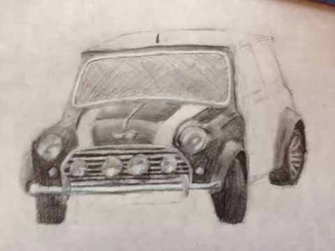 480x360 How To Draw A Realistic Mini Cooper
