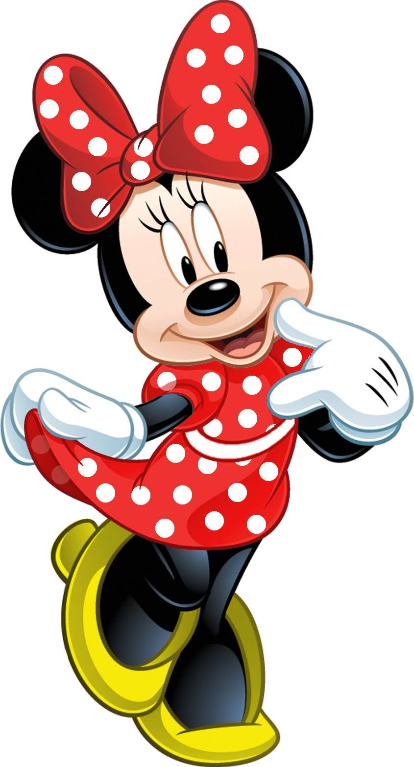 845x1566 How To Draw Minnie Mouse
