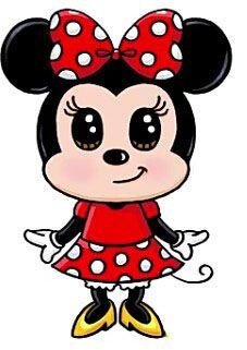 227x321 Minnie Mouse Disney Minnie Mouse, Mice And Kawaii