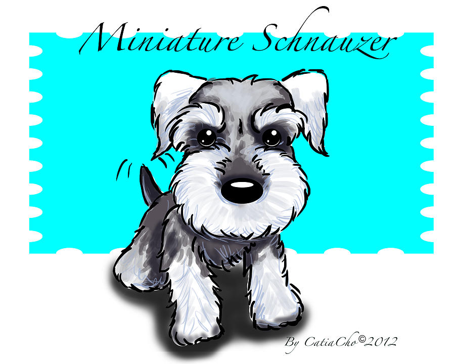 Miniature Schnauzer Drawing at GetDrawings.com | Free for personal ...