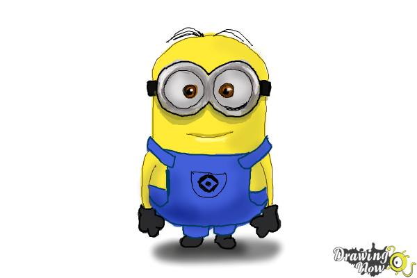 600x400 How To Draw Kevin The Minion From Despicable Me