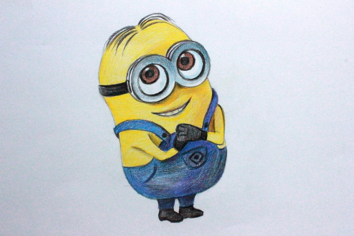 1200x800 Drawing Lessons.how To Draw A Minion From Despicable Me 1,2