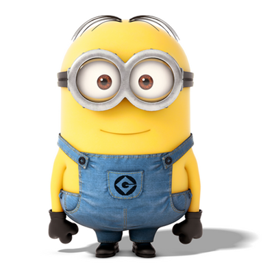 400x400 How To Draw Minions From Despicable Me How To Draw Dat