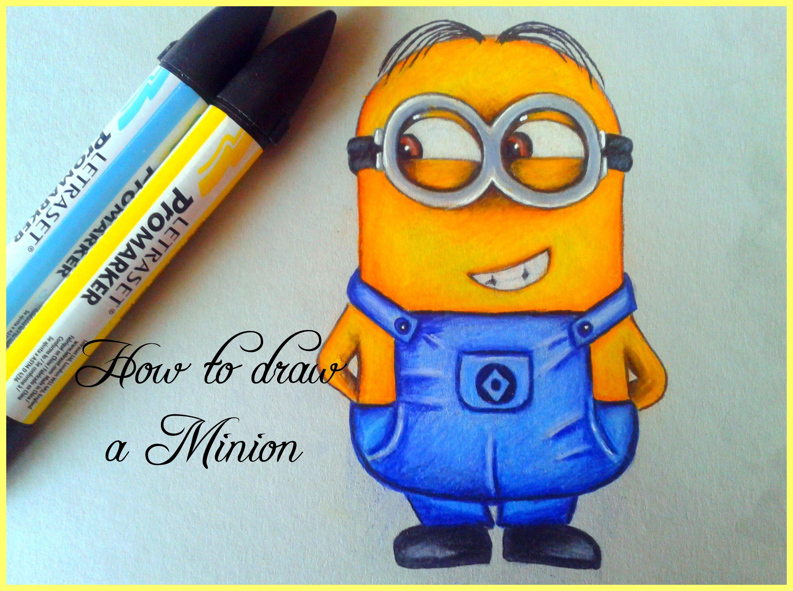 2553x1902 How To Draw A Minion