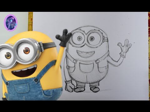 480x360 How To Draw Bob The Minion (A Minions Movie Tutorial