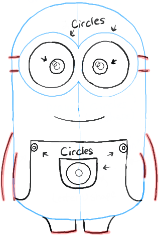 317x469 How To Draw Minions From Despicable Me How To Draw Dat