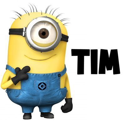 400x400 How To Draw Tim The Minion From Despicable Me With Easy Step By