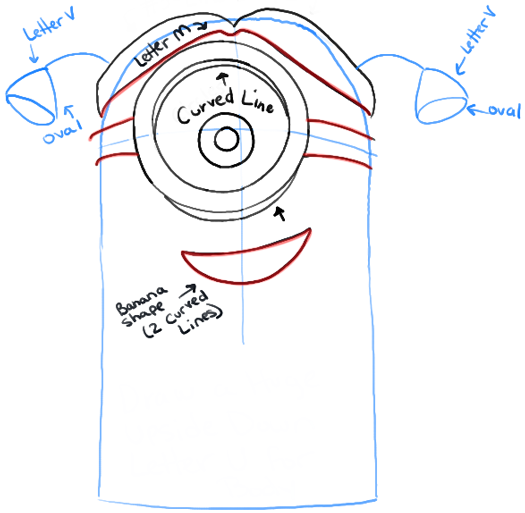 525x513 How To Draw Stuart The Minion Dressed As A Girl From Despicable Me