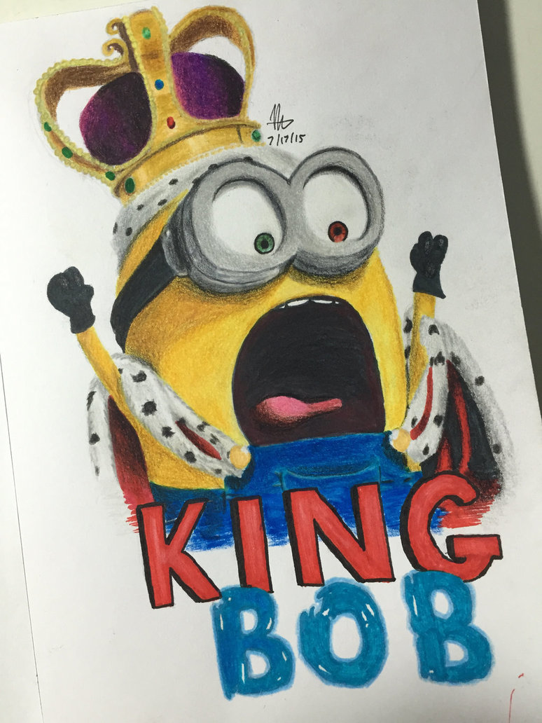 774x1032 King Bob (Minions) By Nathannael2512