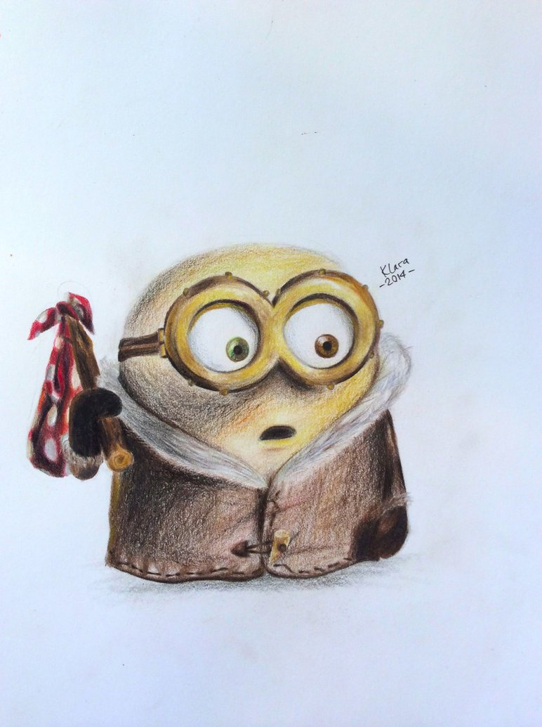 772x1034 Minion Bob By Minerida