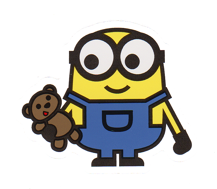 745x649 Minions Bob And Tim Sticker Car Family Decal Hudson