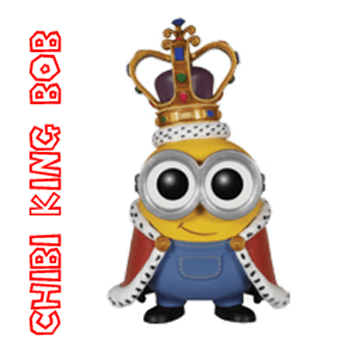 350x349 How To Draw Cute Chibi King Bob From The Minions Movie With Easy