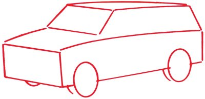 400x193 1. Draw The Outline