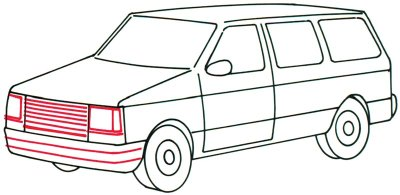 400x195 4. Draw The Grille