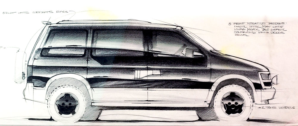 1000x423 Car Design Drawings Getting Creative With Line Weight