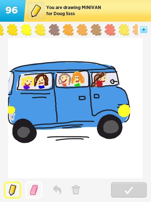 500x667 Minivan Drawings