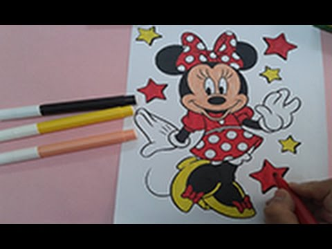 480x360 Arts For Kids How To Color Minnie Mouse, Disney Coloring Pages