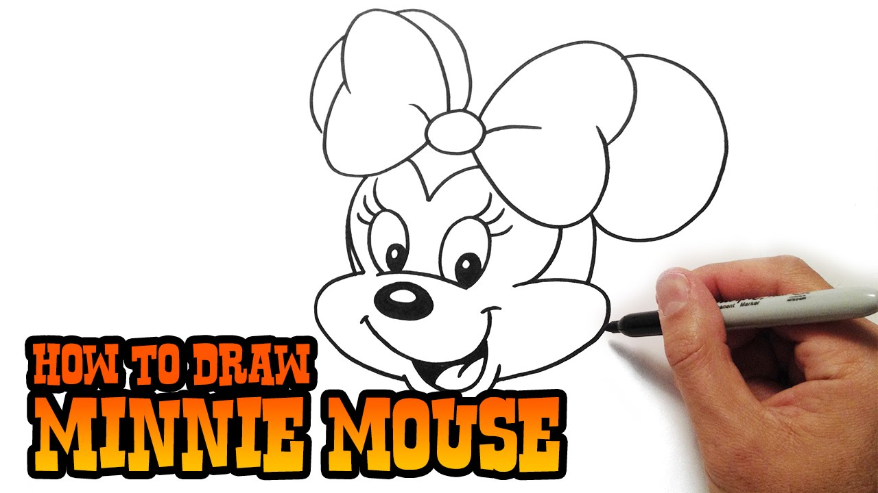 1280x720 How To Draw Minnie Mouse